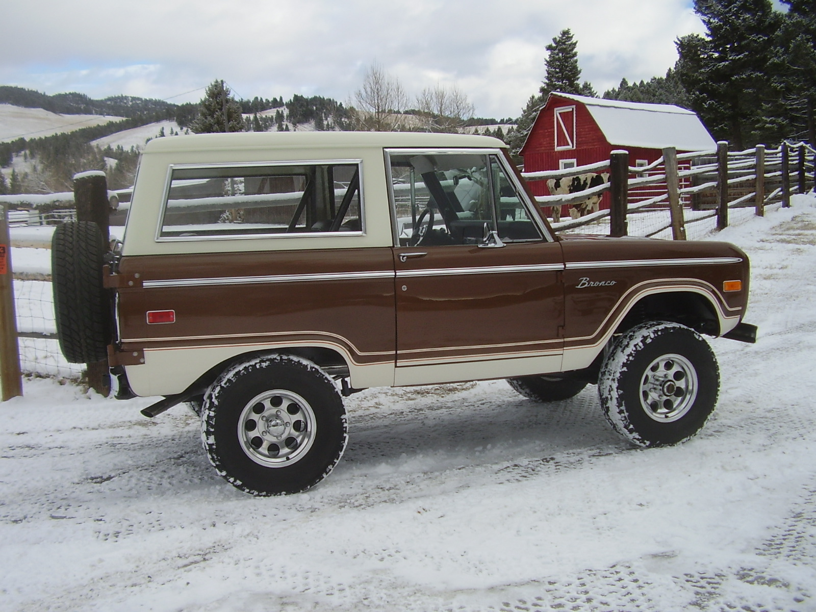 Restorationspg4 1970 Ford Bronco Lifted